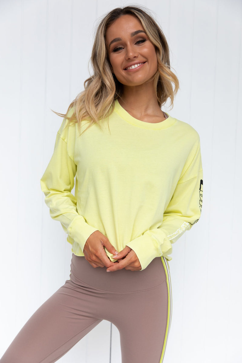 Layer-Up Cropped Long Sleeve - PURE DASH