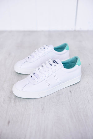 2843 Sport Club Sneakers - Aqua - PURE DASH