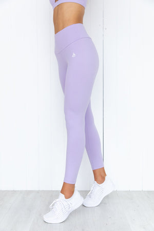 Staples Scrunch Bum Leggings - Lilac