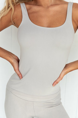 Cloud Ribbed Seamless Singlet