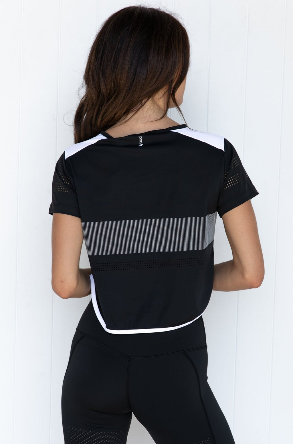 Bella Tee - Black back