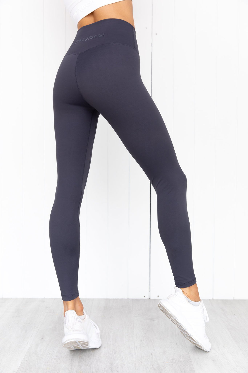 Panther High Rise Leggings - Slate Grey