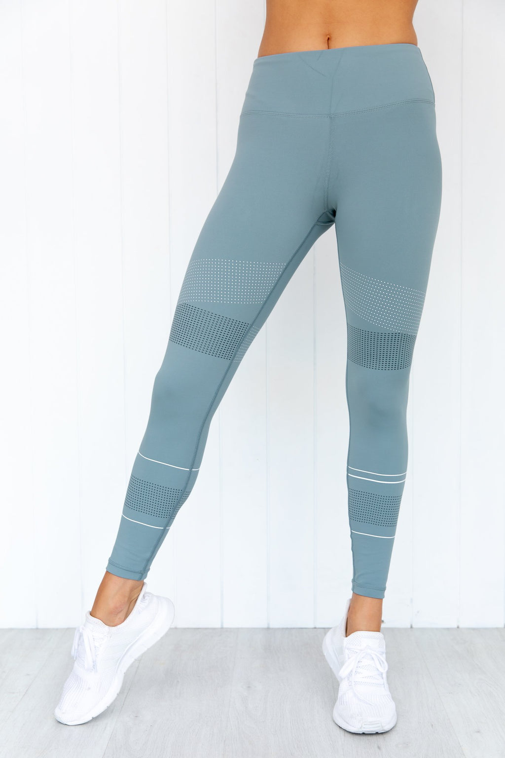 Madison Sorbet Green Leggings
