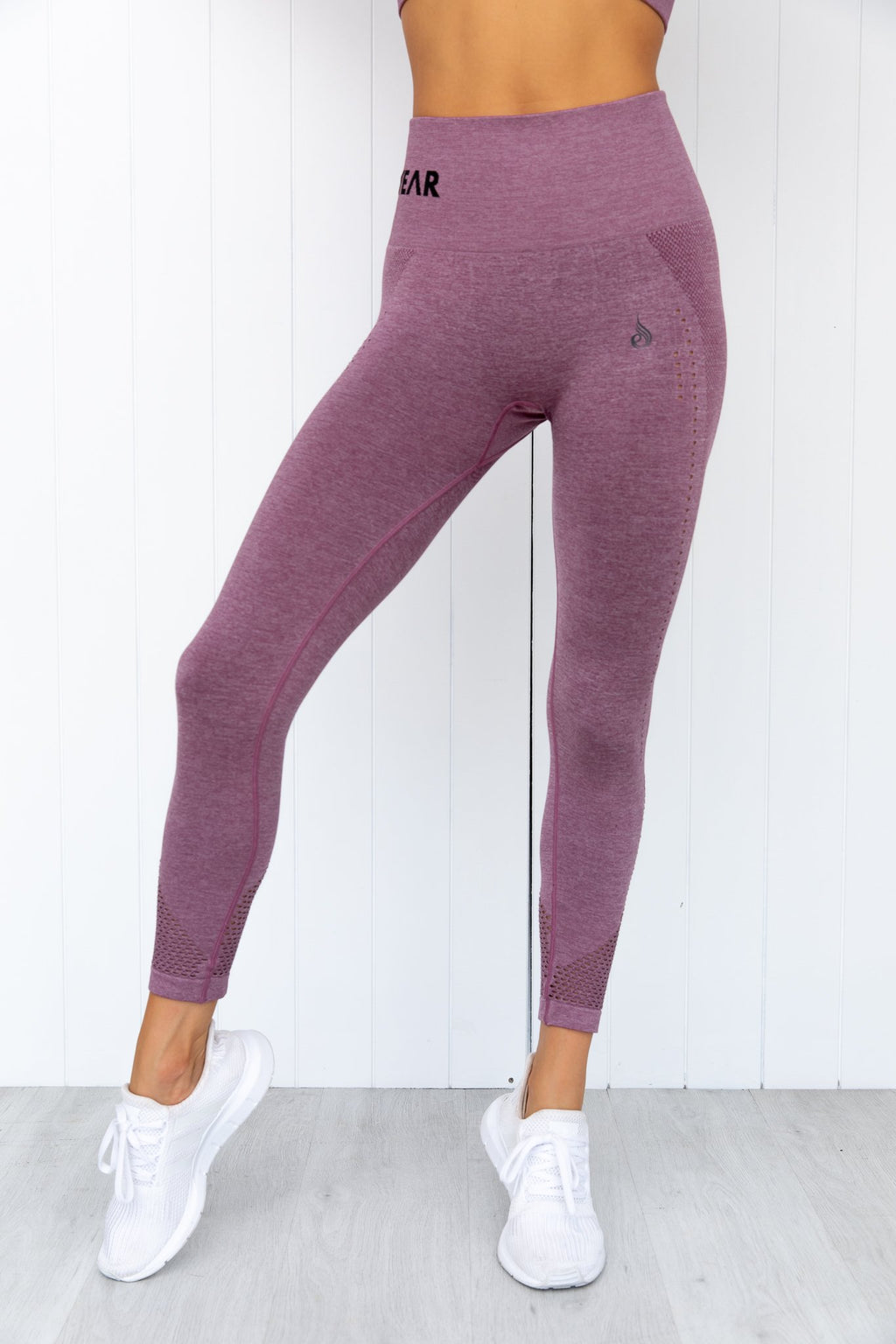 Seamless Staples Leggings - Purple Marl