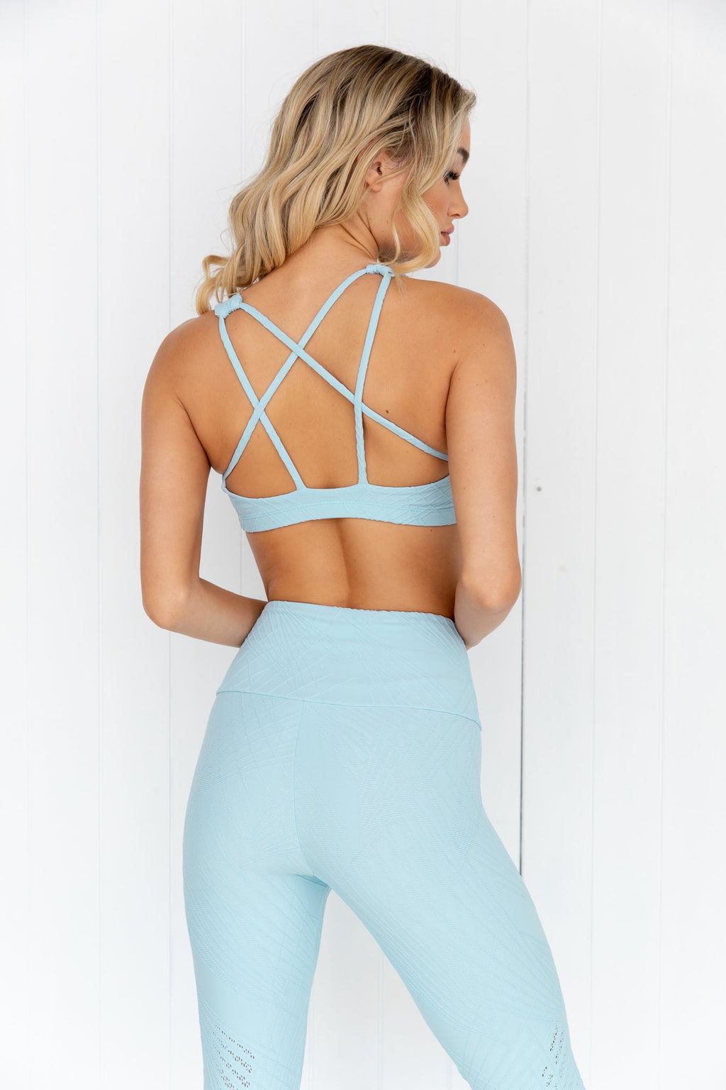 Selenite Mudra Bra  - Powder Blue