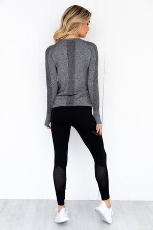 Seamless Long Sleeve Black