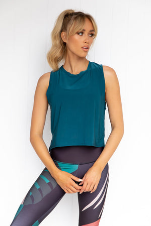 Tempo Tank - Teal
