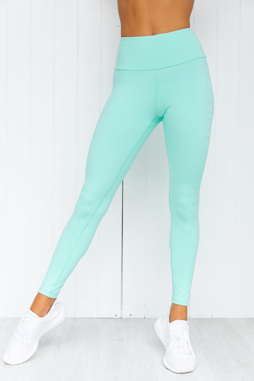 Staples Scrunch Bum Leggings - Mint - PURE DASH