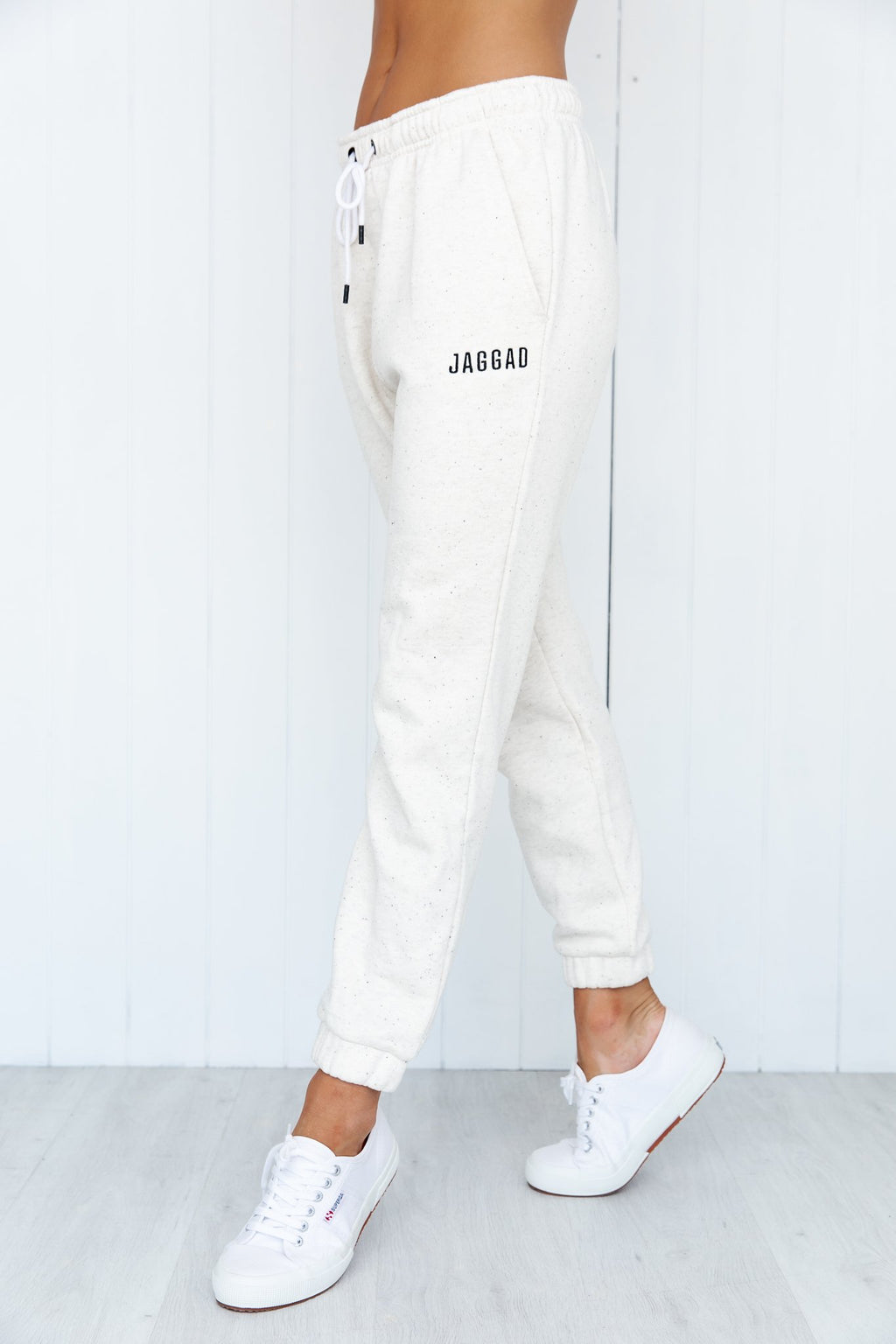 Core Trackpant - White - PURE DASH