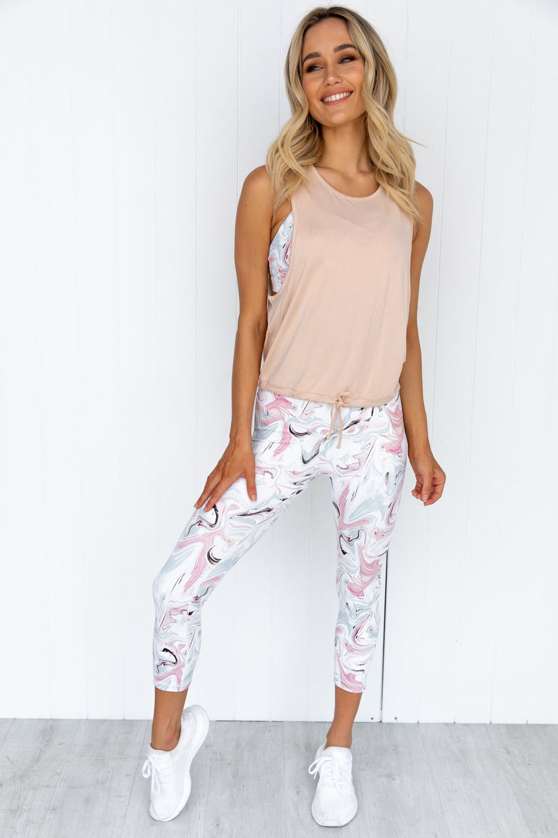 Marvel 3/4 Legging - White
