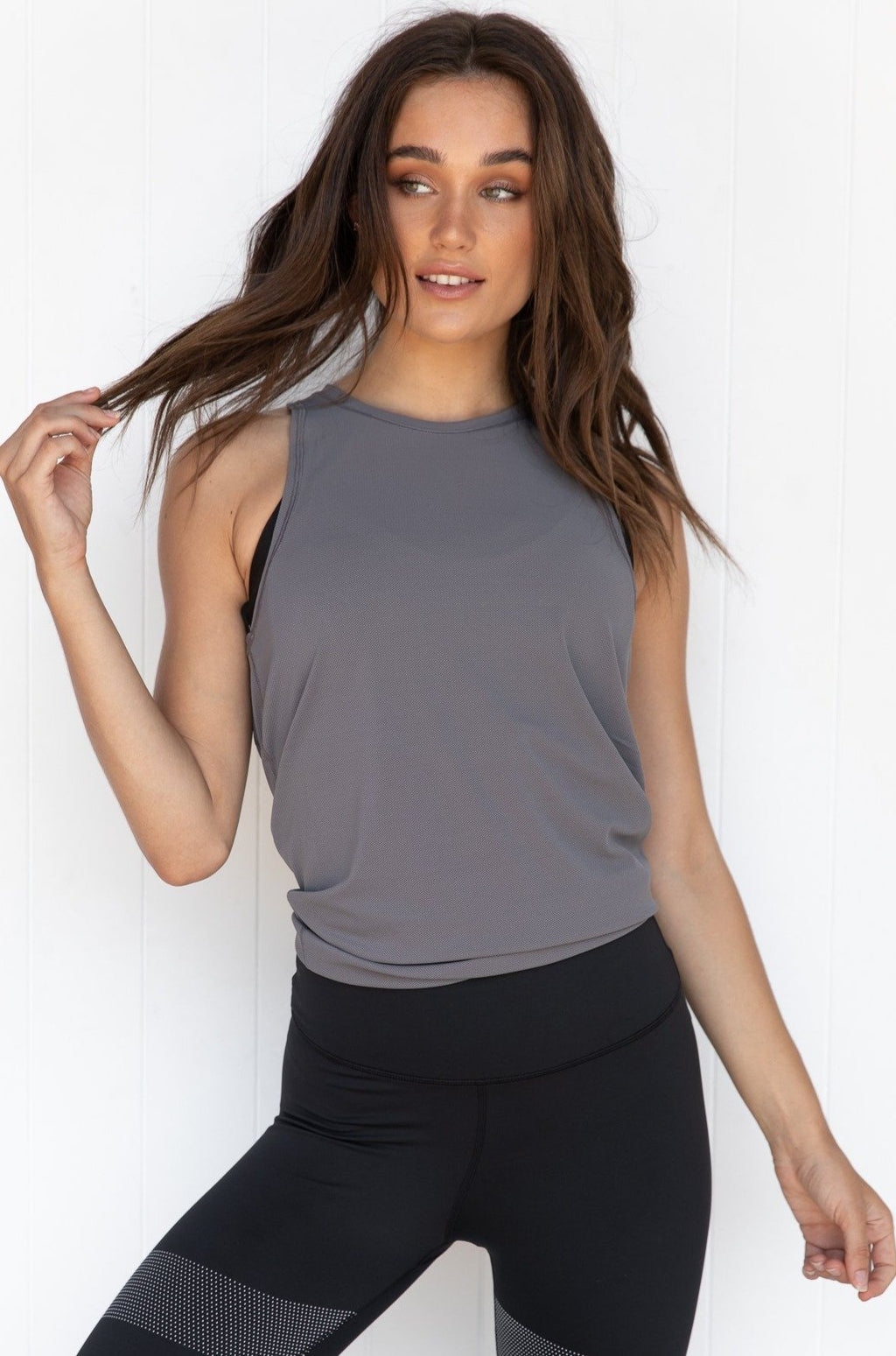 Kendall Tank - Charcoal