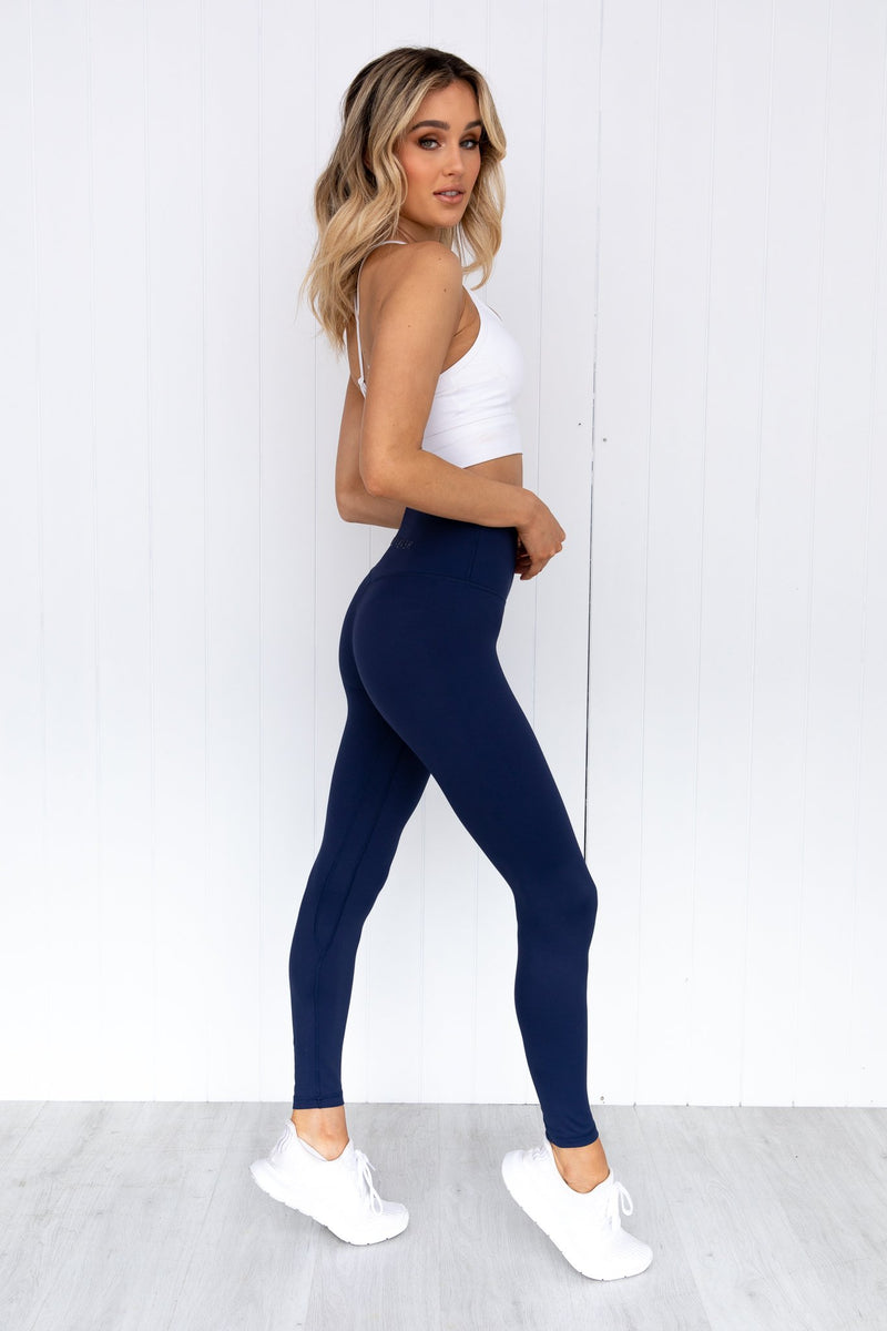 Panther High Rise Leggings - Midnight Navy