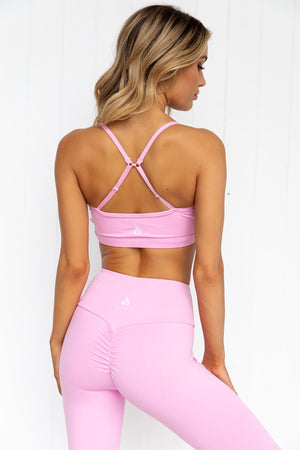 Staples Sports Bra - Pink - PURE DASH