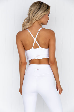 Cherish Crop - White