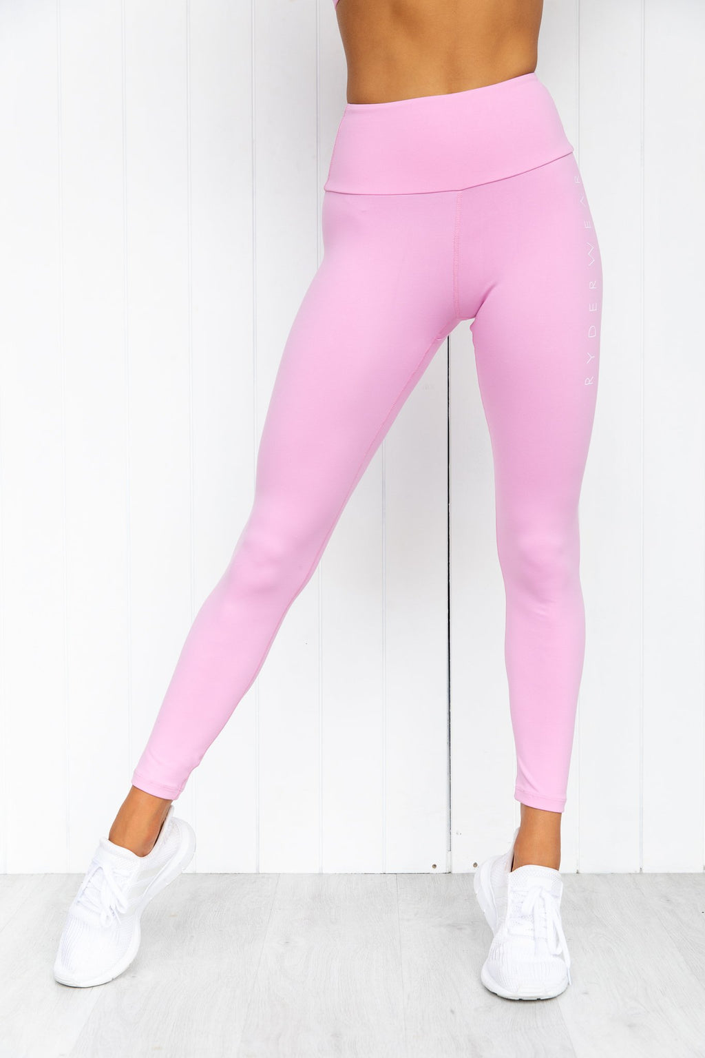 Staples Scrunch Bum Leggings - Pink - PURE DASH