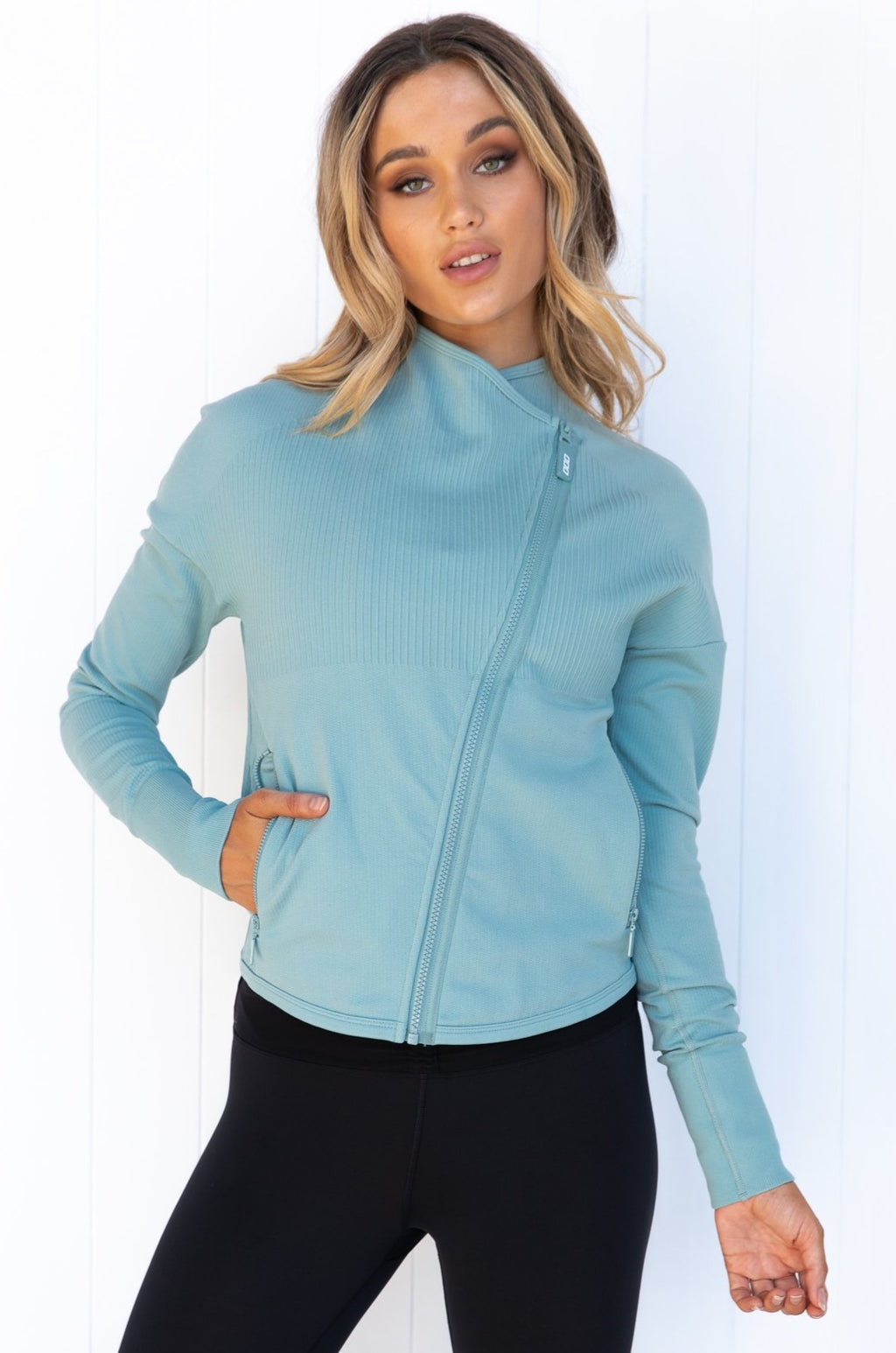 Comfort Seamless Jacket - Succulent - PURE DASH
