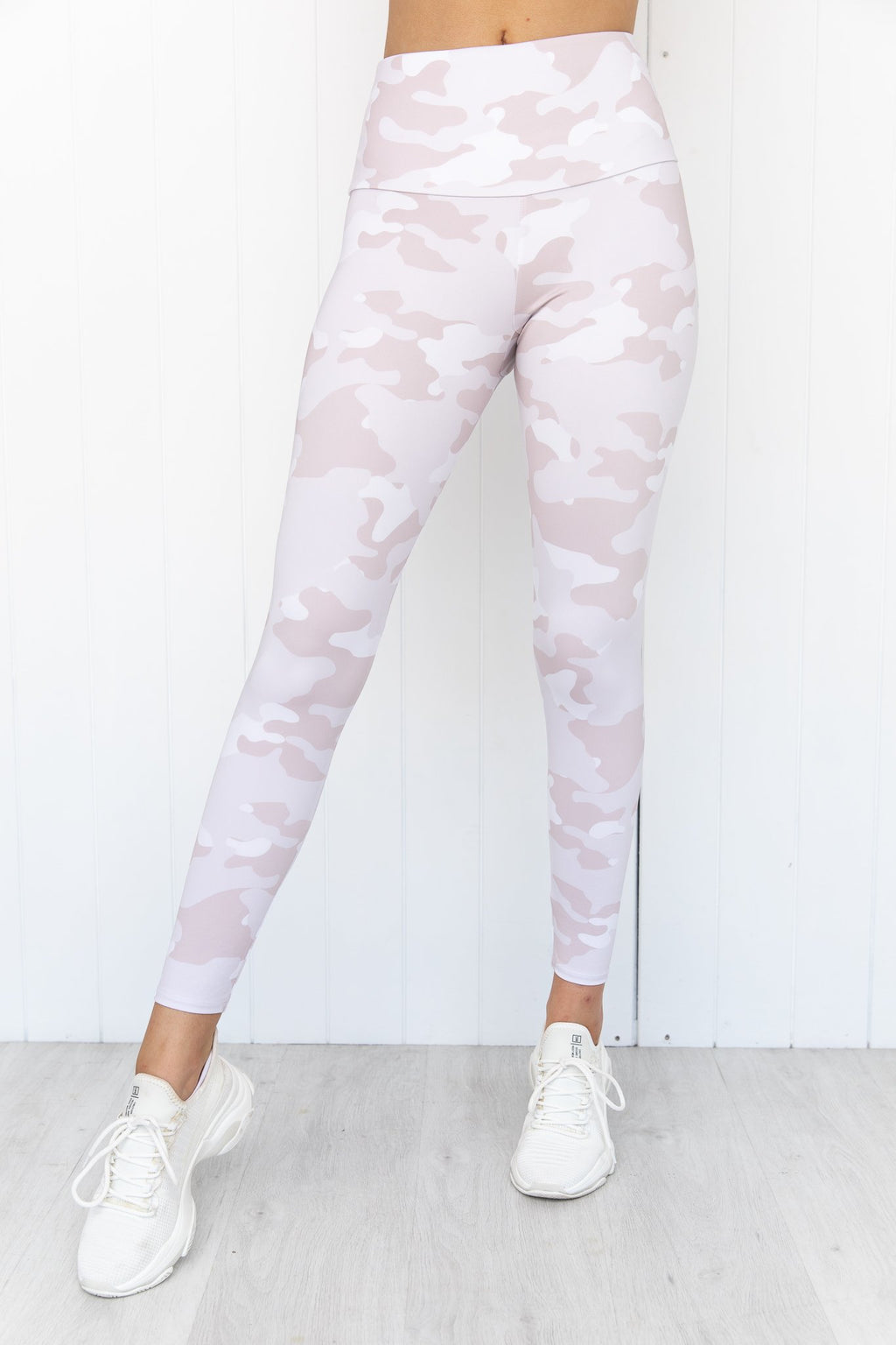 Beige Camo High Rise Legging