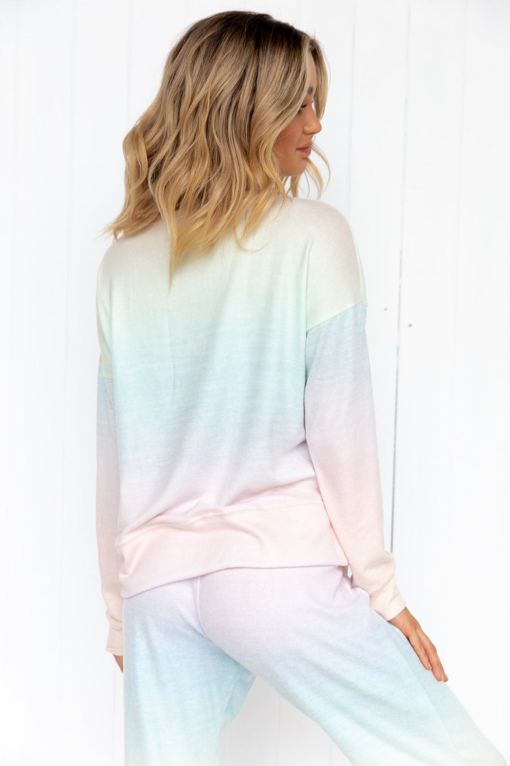 **PRE-ORDER** High Low Sweater - Dreamsicle - PURE DASH