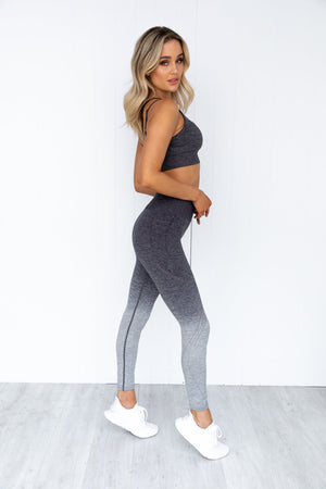 Fleurieu Seamless Crop - Charcoal