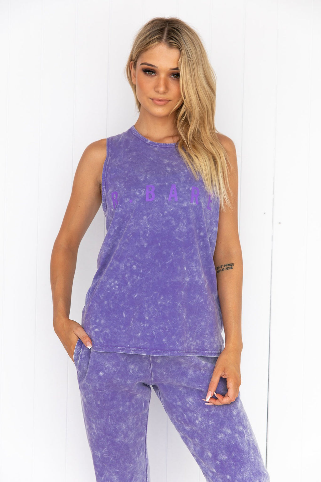 Easy Rider Muscle Tank - Aster-Marl