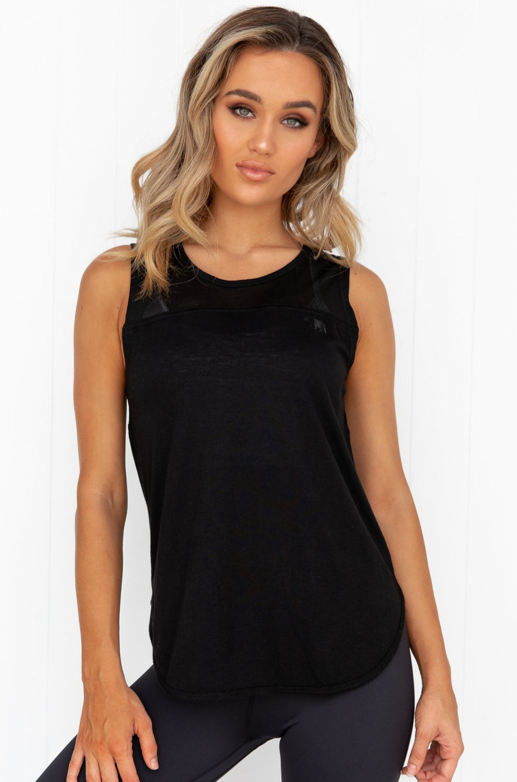 Batter Up Tank - Black - PURE DASH