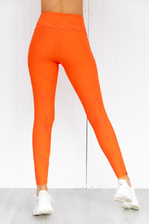 Selenite 7/8 Tights -  Tangerine