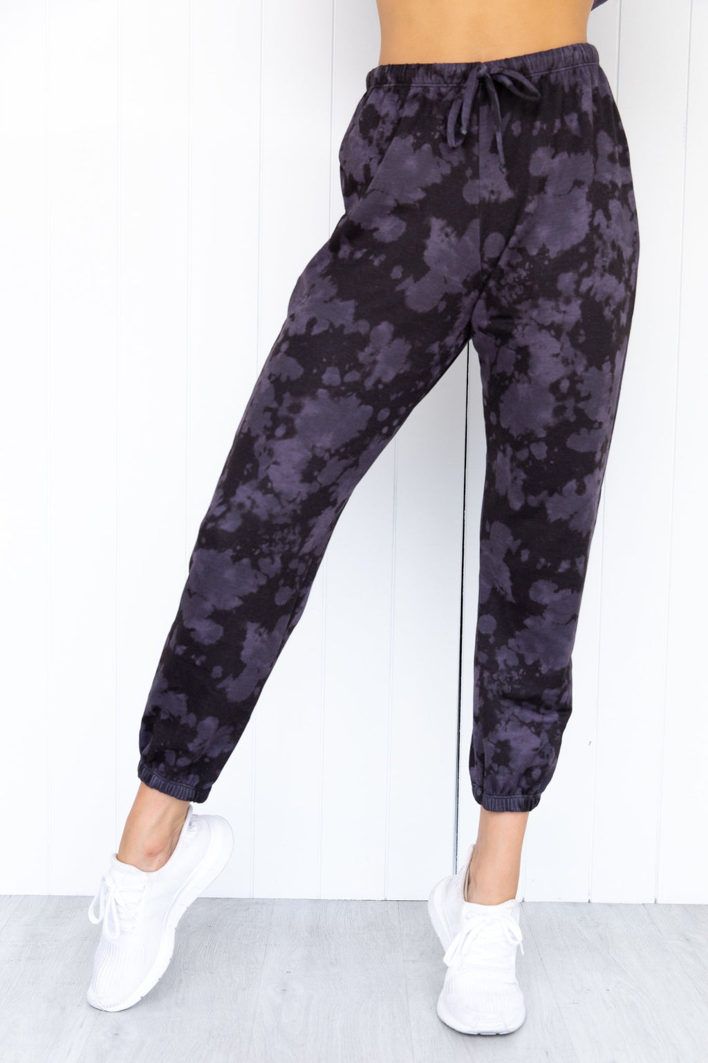 Fleece Sweatpant - Amethyst Tie Dye