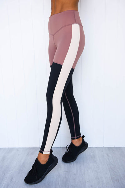 Stars Aligned Legging - Dusty Rose