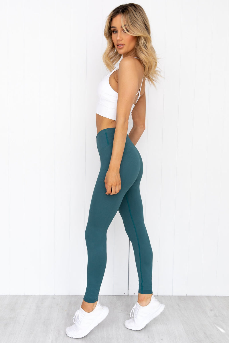 Hydro Ribbed Seamless Tights