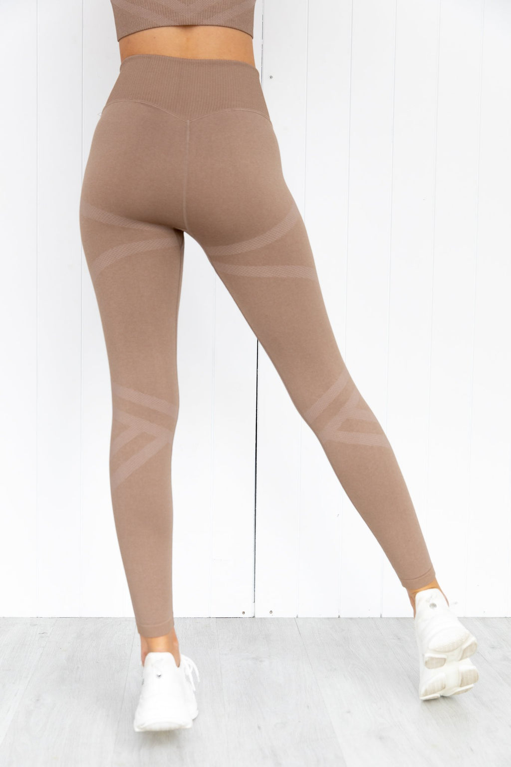 Espresso Fierce Seamless Tights