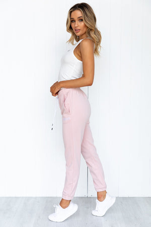 Core Trackpant - Dusty Pink - PURE DASH