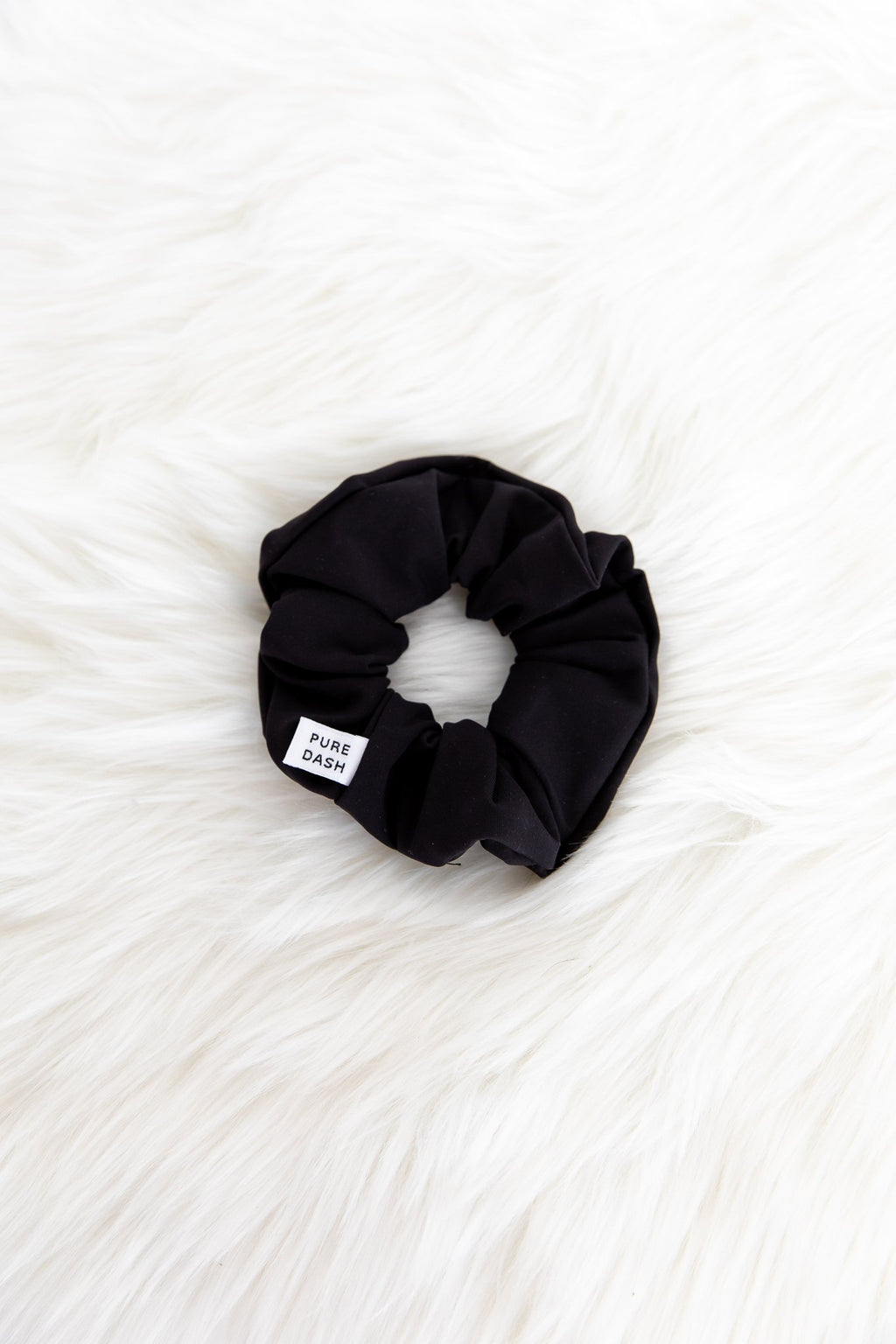 Pure Dash Scrunchie - Black