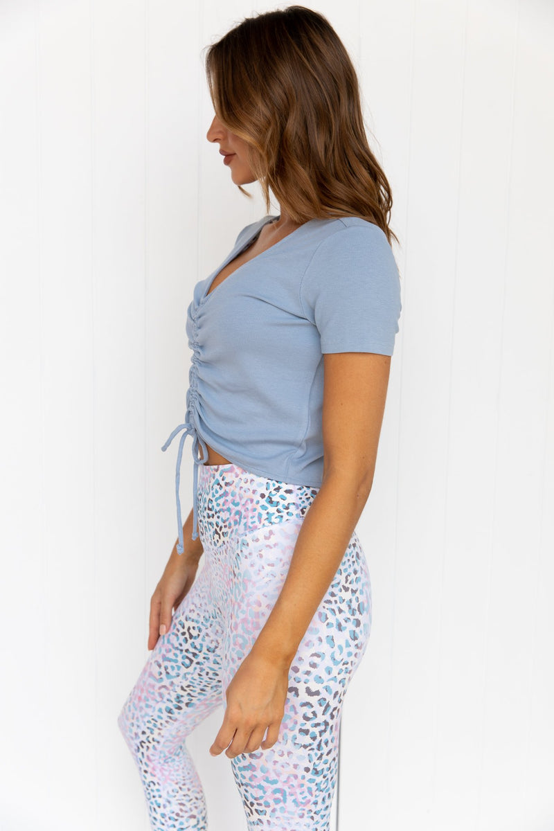 Expression Top - Soft Blue