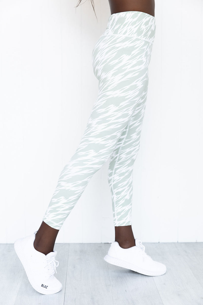 After Life 7/8 Legging - Green