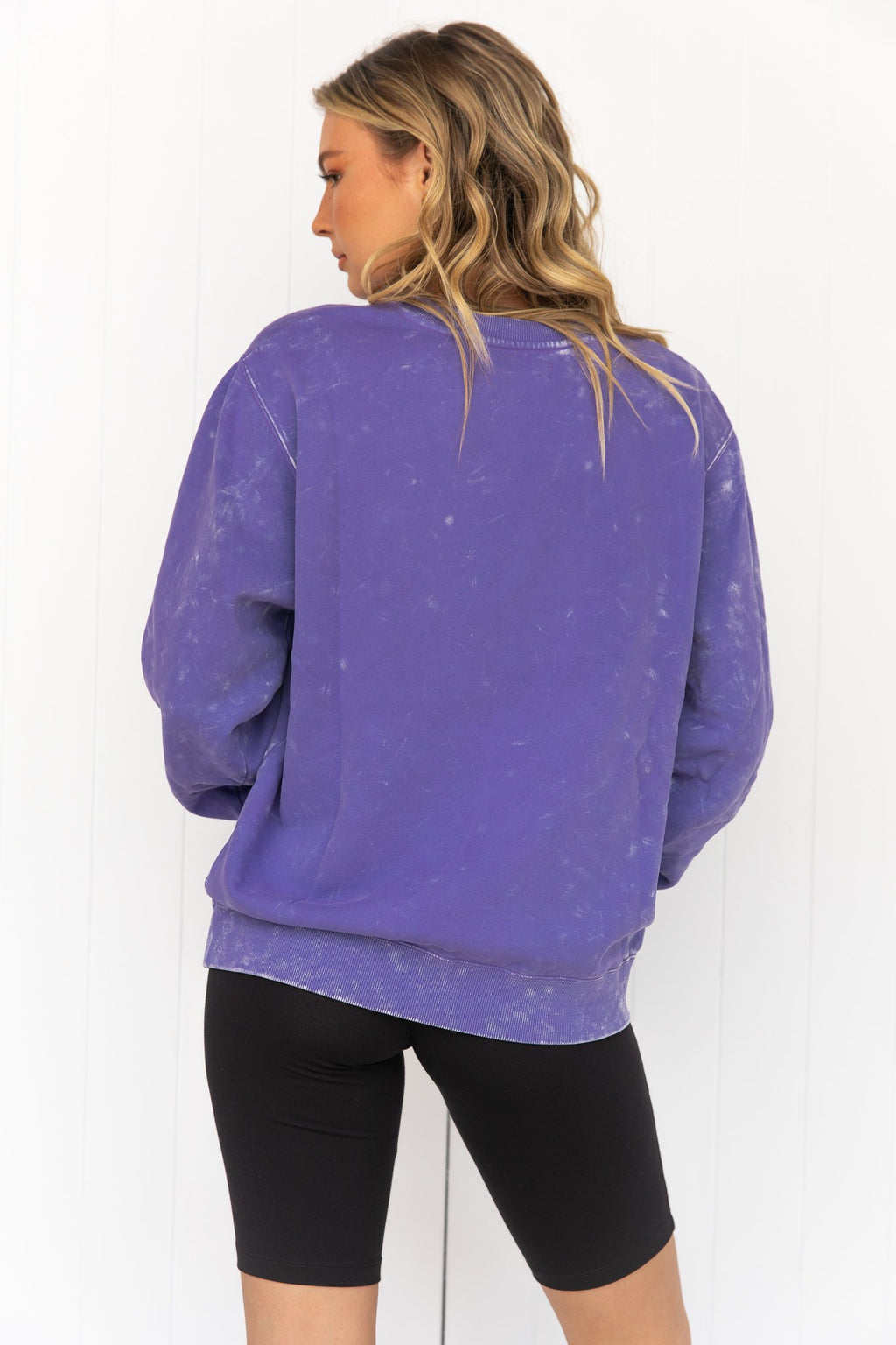 Legacy Crew Sweat - Aster Wash