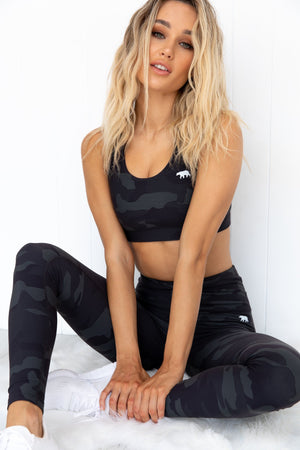 Power Up Sports Bra - Scarlett