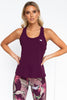Walkout Workout Tank - Mulberry