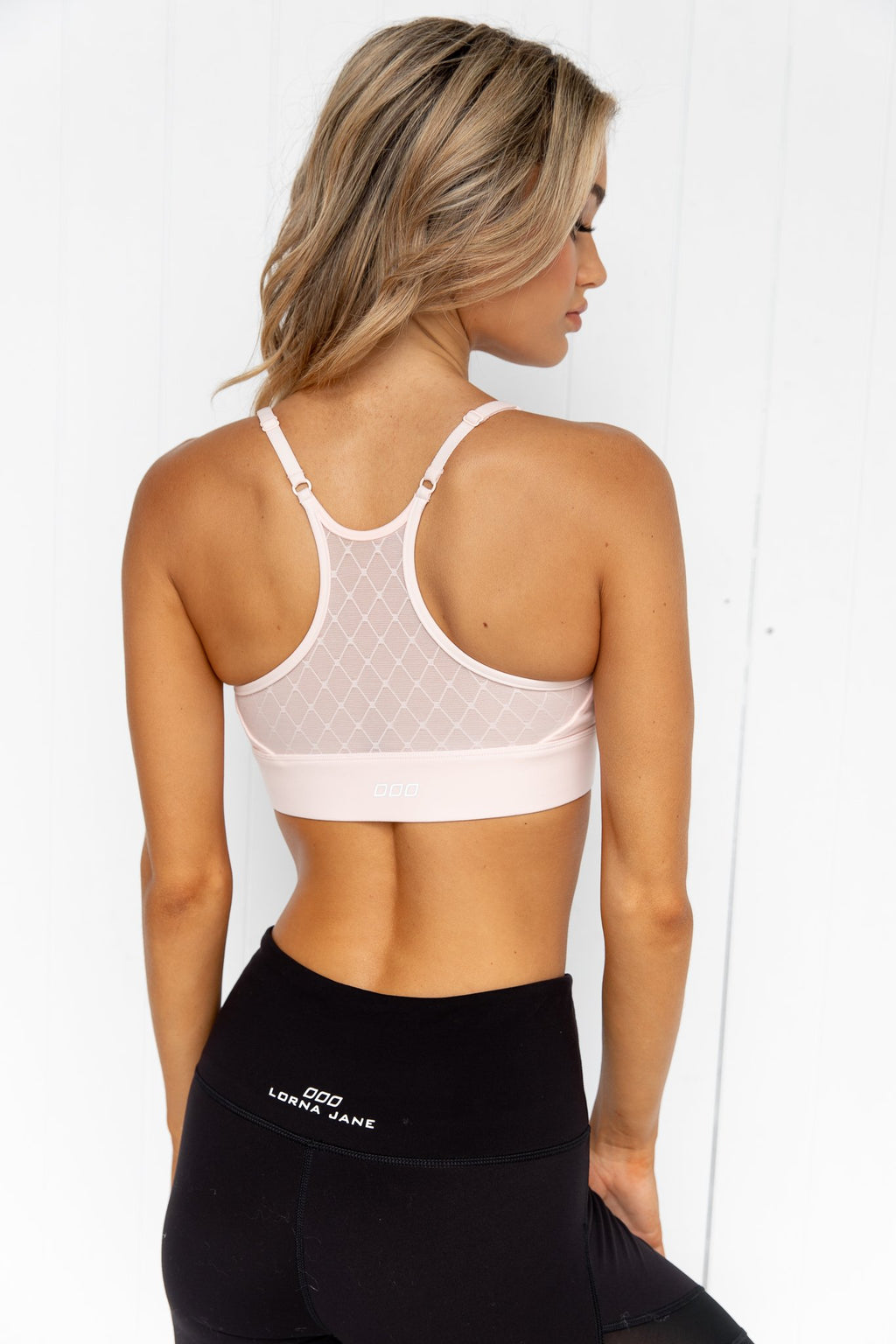Faster Sports Bra - Dusty Pink - PURE DASH