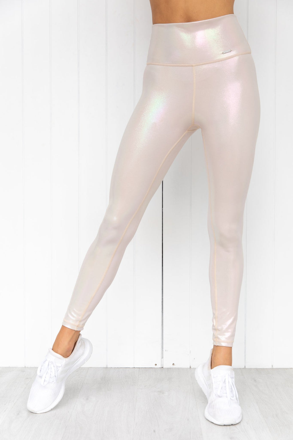 Cream Shine On Tights - PURE DASH
