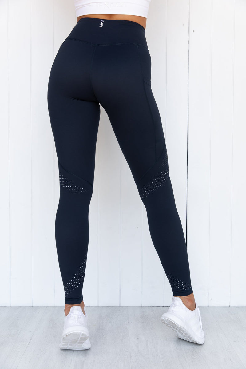 Teagan Midnight Navy Legging - PURE DASH