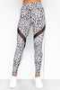 Bootylicious Snow Leopard Leggings - PURE DASH
