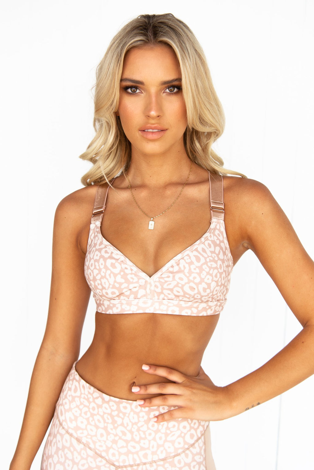 Soft Ambience Bralette - Tan - PURE DASH