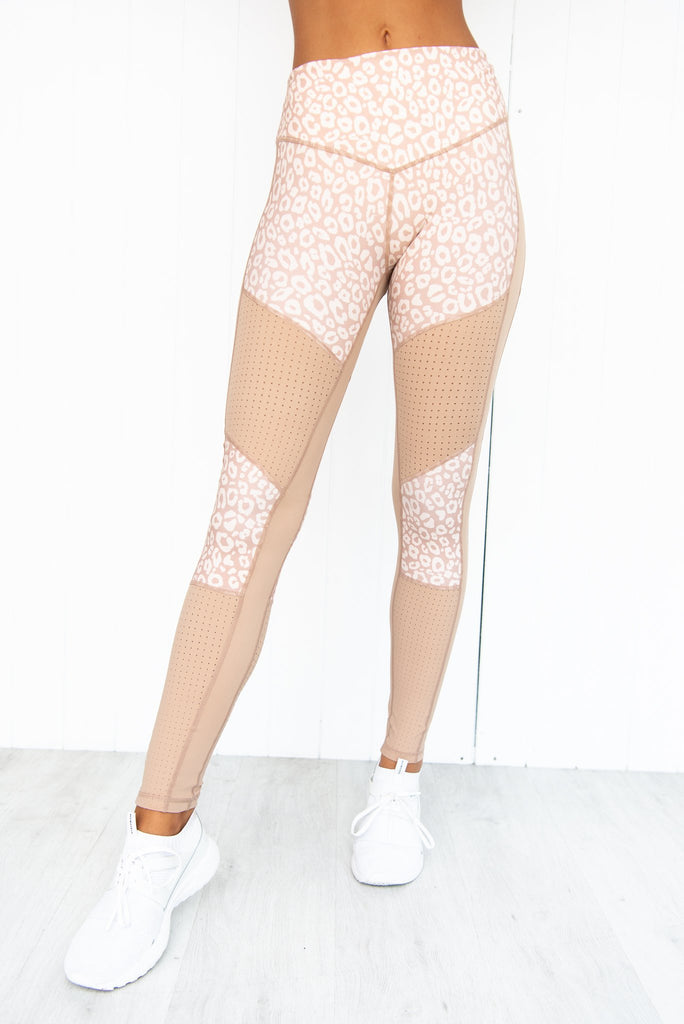 Soft Ambience Leggings - Tan