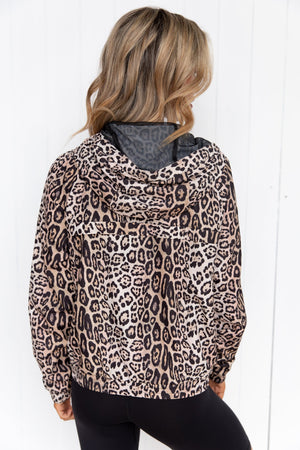 Leopard Breakaway Jacket - PURE DASH