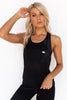 Get Twisted Tank - Black