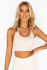 Wellness Warrior Seamless Bra - Creme