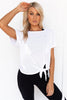 Fit To Be Tied Tee - White