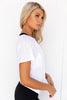 Fit To Be Tied Tee - White - PURE DASH