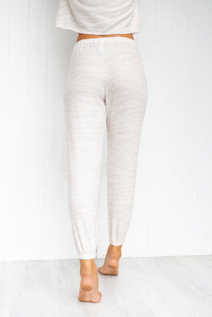 Weekend Sweatpants - Zebra - PURE DASH