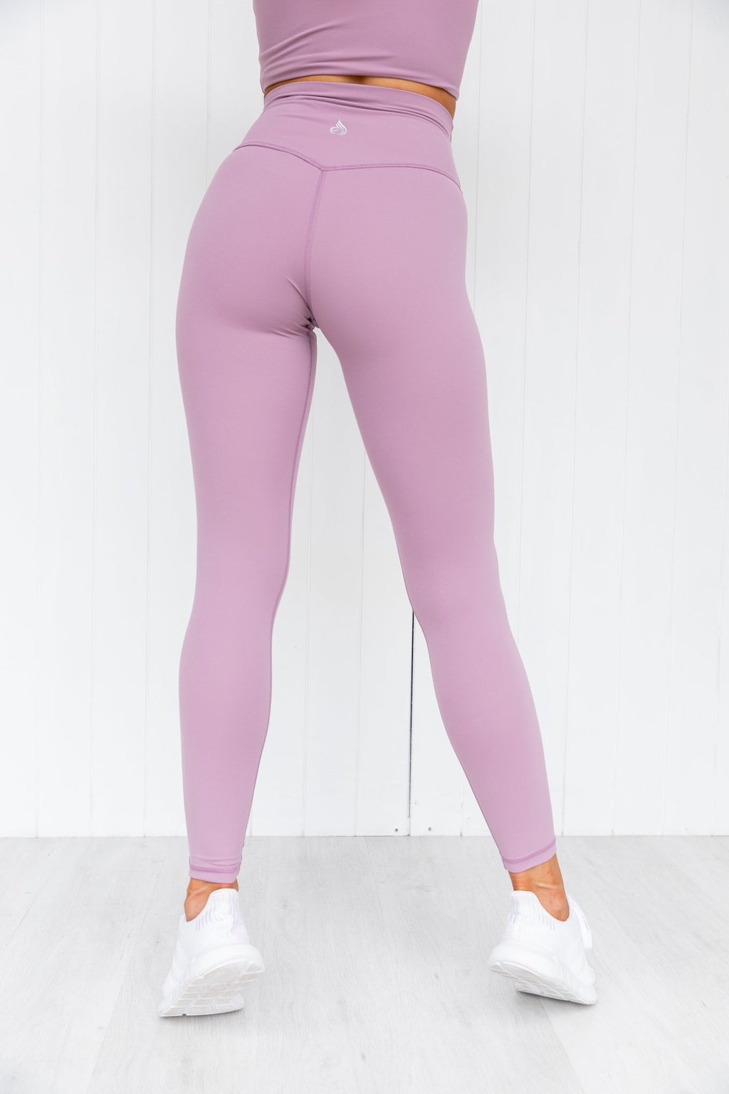 NKD High Waist Leggings - Grape - PURE DASH